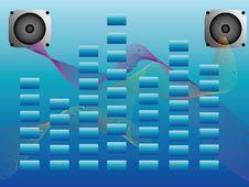Free Music Background Stock Image - 17611201