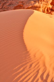 Free Dune In Wadi Rum Stock Photos - 17611323