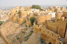 Free Wall Of Jaisalmer Palace (India) Royalty Free Stock Image - 17611576