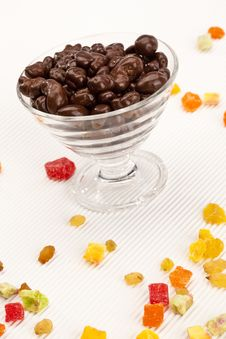 Free Chocolate Raisins Stock Photo - 17611610