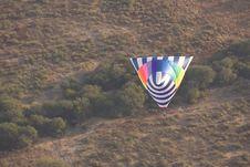 Free Tetrahedron Shaped Hot Air Balloon Royalty Free Stock Images - 17614299