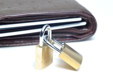 Free Abstract Lock Your Wallet Stock Images - 17614784