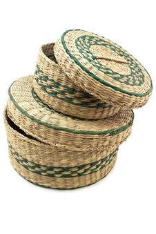 Free Wicker Container Royalty Free Stock Photos - 17615328