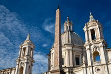 Free Buildings On Piazza Navona Royalty Free Stock Photos - 17615778