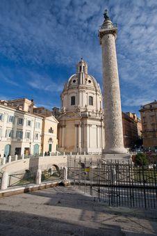 Free Trajan S Column Royalty Free Stock Image - 17615806
