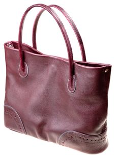 Free Leather Cherry Bag Stock Photo - 17615970