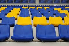 Free Stadium Seats Royalty Free Stock Image - 17617336