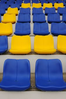 Free Stadium Seats Stock Photos - 17617343