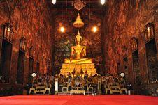 Free Buddha Statue In Thailand Stock Photos - 17617613