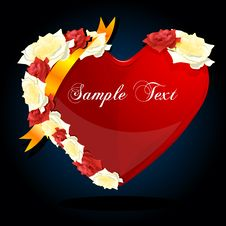 Free Valentine Card Royalty Free Stock Photography - 17617727