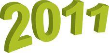 Year 2011 Stock Photos