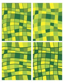 Free Green Squares Patterns Royalty Free Stock Image - 17618976