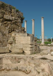 Free Ruins Of Ancient Salamis Royalty Free Stock Images - 17619379