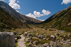 Free Pfitscher Joch,  Zillertaler Alps, Austria Stock Images - 17619754