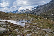 Free Pfitscher Joch,  Zillertaler Alps, Austria Stock Images - 17619794