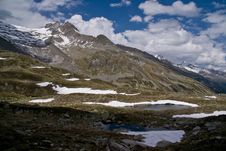 Free Pfitscher Joch,  Zillertaler Alps, Austria Stock Photography - 17619862