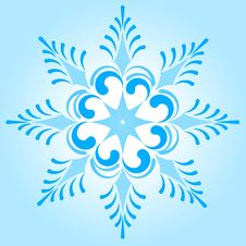 Free Snowflake Winter Illustration Stock Photos - 17619923