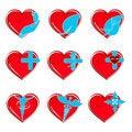Free Happy Hearts Stock Photography - 17623952