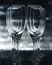 Free Empty Champagne Glasses Royalty Free Stock Images - 17628369