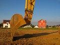 Free Excavator In The Development  Area Stock Photos - 17629103