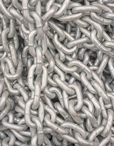 Free Pile Of Chain Stock Image - 17620001