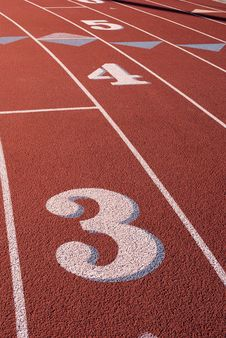 Free Running Track Stock Photography - 17620142