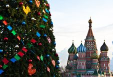 Free Christmas In Moscow Stock Photography - 17620422