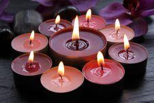 Free Burning Candles Royalty Free Stock Image - 17620596