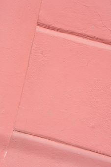 Free The Pink Colored Walls Royalty Free Stock Images - 17623349