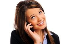Free Businesswoman On A Call Stock Image - 17623371