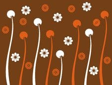 Free Retro Flower Spring Illustration  Landsca Royalty Free Stock Photos - 17623468