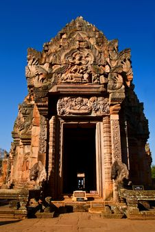 Free Phanom Rung National Park At Thailand Stock Image - 17623571