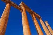 Free Roman Architecture In Jerash Stock Photos - 17623883