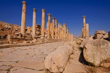 Free Ancient Architecture In Jerash Royalty Free Stock Images - 17623899
