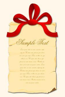 Free Gift Card Royalty Free Stock Photos - 17623948