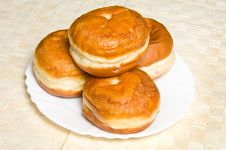 Free Doughnuts Royalty Free Stock Image - 17624166