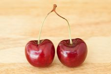 Free Cherries Royalty Free Stock Images - 17624209