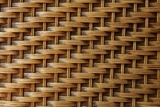 Free Close Up Of  Bamboo Texture Wall Royalty Free Stock Photo - 17624395