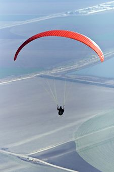 Free Paraglider Flying Stock Photo - 17625270
