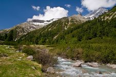 Free Pfitscher Joch,  Zillertaler Alps, Austria Stock Photos - 17625303