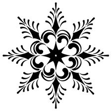 Free Snowflake Winter Illustration Stock Images - 17625774