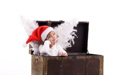 Free Little Angel. Royalty Free Stock Photography - 17625827