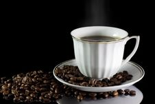 Free Cup Of Coffee Royalty Free Stock Image - 17625916