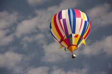 Free Hot Air Balloon In Clear Sky Royalty Free Stock Images - 17626579