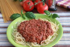 Free Spaghetti Bolognese Royalty Free Stock Photos - 17627348