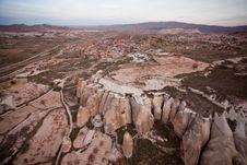 The Rock Castle At Cappadocia Stock Photo