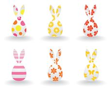 Free Easter Hares Stock Images - 17628024