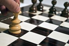 Free Chess Table Stock Images - 17628074