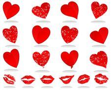 Free Heart Icon3 Stock Image - 17628101