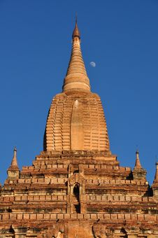Free Myanmar: Bagan Temples Stock Photography - 17628102